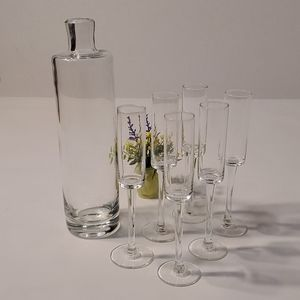 Glass Shooters Set